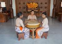 Authentic Welcome, Anantara Peace Haven Resort & Spa , Tangalle
