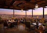 Suhail restaurant, Qasr Al Sarab Desert Resort by Anantara, Abu Dhabi