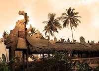 Djembatan Barong restaurant, Tugu Lombok, Sire Beach