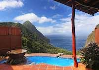 Rainbow Suite, Ladera, Saint Lucia