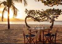Beach Dining, Palm Island Resort & Spa, Palm Island
