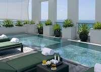 The pool at the Setai, Miami