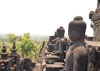 Borobodur statues