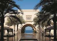 Courtyard, Shangri-La Al Husn , Muscat