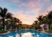 Main Infinity Pool, Layana Resort, Koh Lanta