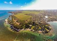 Aerial view, The Oberoi Mauritius , Mauritius