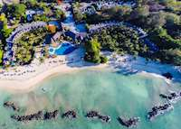 Aerial view, Sands Suites Resort & Spa, Mauritius