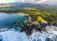 Aerial view, Shanti Maurice, Mauritius
