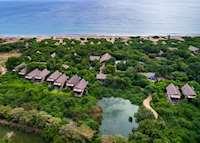 Ariel view of Jungle Beach
