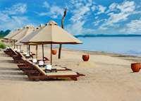 Jungle Beach sunbeds