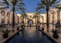 Courtyard, Shangri-La Al Husn Resort & Spa, Muscat