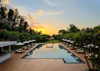 Wellness Pool, Layana Resort, Koh Lanta