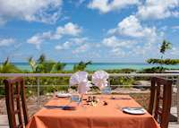 Starfish Restaurant, Acajou Beach Resort, Praslin
