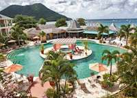 Pool, Bay Gardens Beach Resort, Saint Lucia