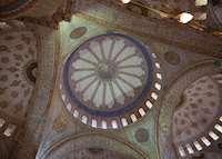 Blue Mosque interior, Istanbul