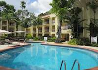 Pool area at the Tamarind