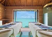 Spa Treatment Room, Conrad Rangali Island & Resort, Maldive Island