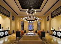 Reception, Qasr Al Sarab Desert Resort by Anantara, Abu Dhabi