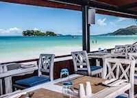St Pierre Beach Reastaurant, Paradise Sun, Praslin