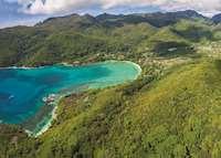 Aerial view, Constance Ephelia Resort, Mahe