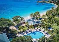 Aerial view, Bequia Beach Hotel, Bequia