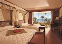 Lagoon view room, InterContinental Resort, Tahiti