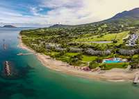 Aerial view, Four Seasons Resort Nevis, Saint Kitts & Nevis