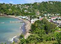 Anse La Raye fishing village, Saint Lucia