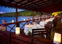 Ti Manje Restaurant, Ti Kaye Resort & Spa, Saint Lucia
