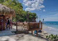 Naked Fisherman Beach Bar & Grill, Cap Maison, Saint Lucia