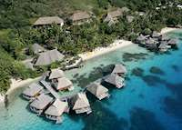 Aerial View, Le Maitai Polynesia