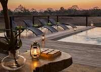 Arathusa Safari Lodge, pool area
