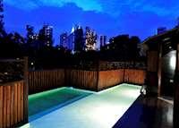 The Loft's plunge pool, Villa Samadhi, Kuala Lumpur