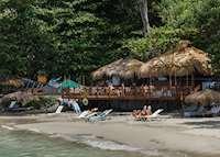 Naked Fisherman beach restaurant, Cap Maison, Saint Lucia