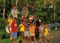 Local children, Viti Levu