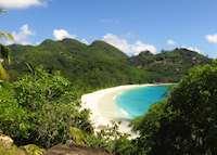 Beach, Banyan Tree Seychelles , Mahe