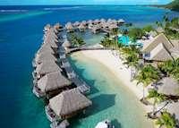 Aerial View, Manava Beach Resort & Spa - Moorea, Moorea