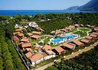 Aerial view, Kimera Lounge, Cirali