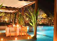 Restaurant at the Sarojin, Khao Lak