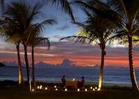 Beachfront Romantic Dinne at The Samaya, Seminyak