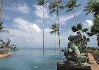 Infinity Pool; Anantara, Koh Samui