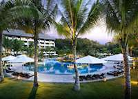 Ocean Wing pool and rooms, Shangri-La's Rasa Ria Resort, Kota Kinabalu