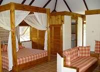 Chalet interior, Bird Island