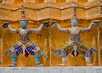 Detail of the Grand Palace, Bangkok