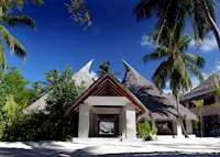 Reception at Huvafen Fushi, Maldive Island