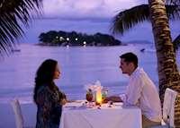 Romantic dinner at Paradise Sun, Praslin