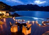 Destination dining: Sea and Stars, Banyan Tree Seychelles, Mahe