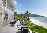 Au Jardin D'Epices restaurant, Banyan Tree Seychelles, Mahe