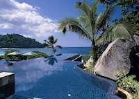 Infinity Pool, Banyan Tree Seychelles, Mahe