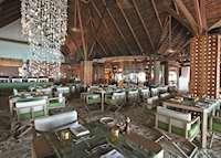 Manta Restaurant, Constance Moofushi,Maldive Island